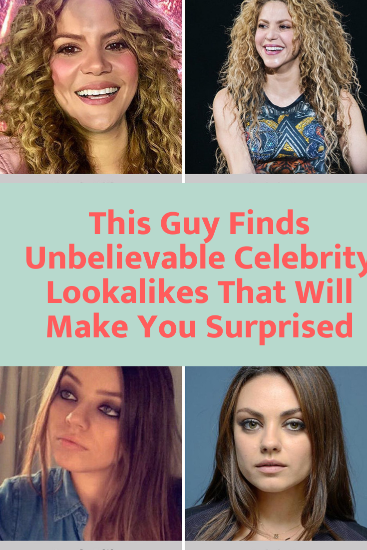 This Guy Finds Unbelievable Celebrity Lookalikes That Will Make You Surprised In 2020 Celebrities Celebrity Gossip Elle Fanning