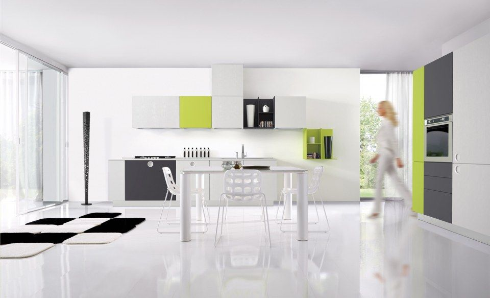 Cucina Euromobil One Touch progettazione casa funzionale ...