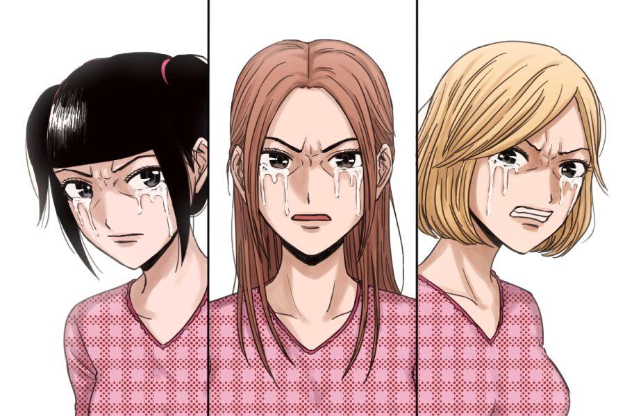 Pin De Deneb Dreemurr Em Back Street Girls Gokudolls Anime J Pop Homens