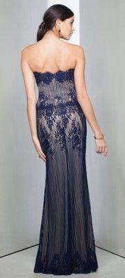 OpCqYWKzdp_Navy_Nude_Striped_Lace_Dress.jpg (180×400)