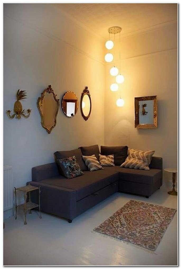 bilder kleines wohnzimmer einrichten schlicht ecksofa bungalow haus bauen