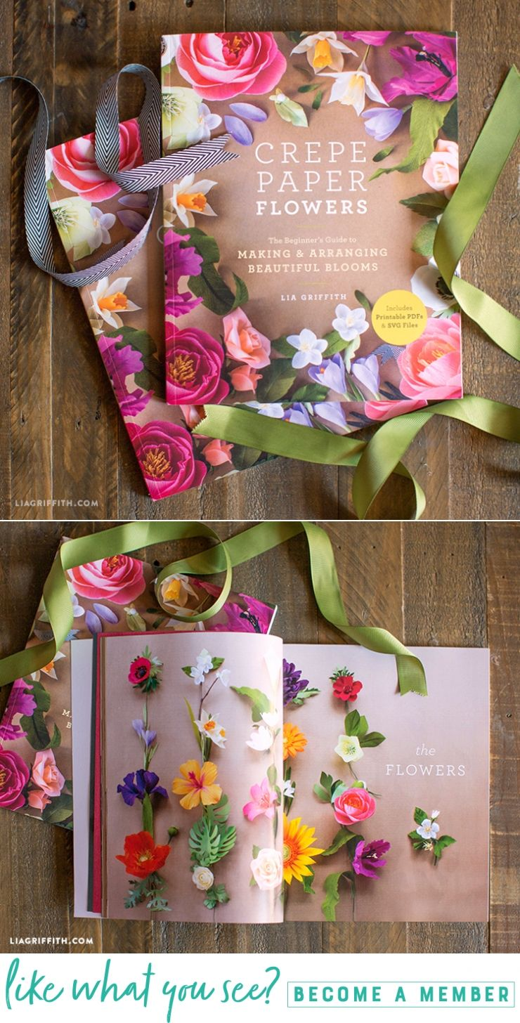 Out Now New Crepe Paper Flowers Book By