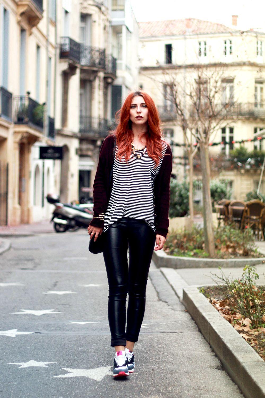 Outfit Sportlicher Montpellier Streetstyle Fashion Blog