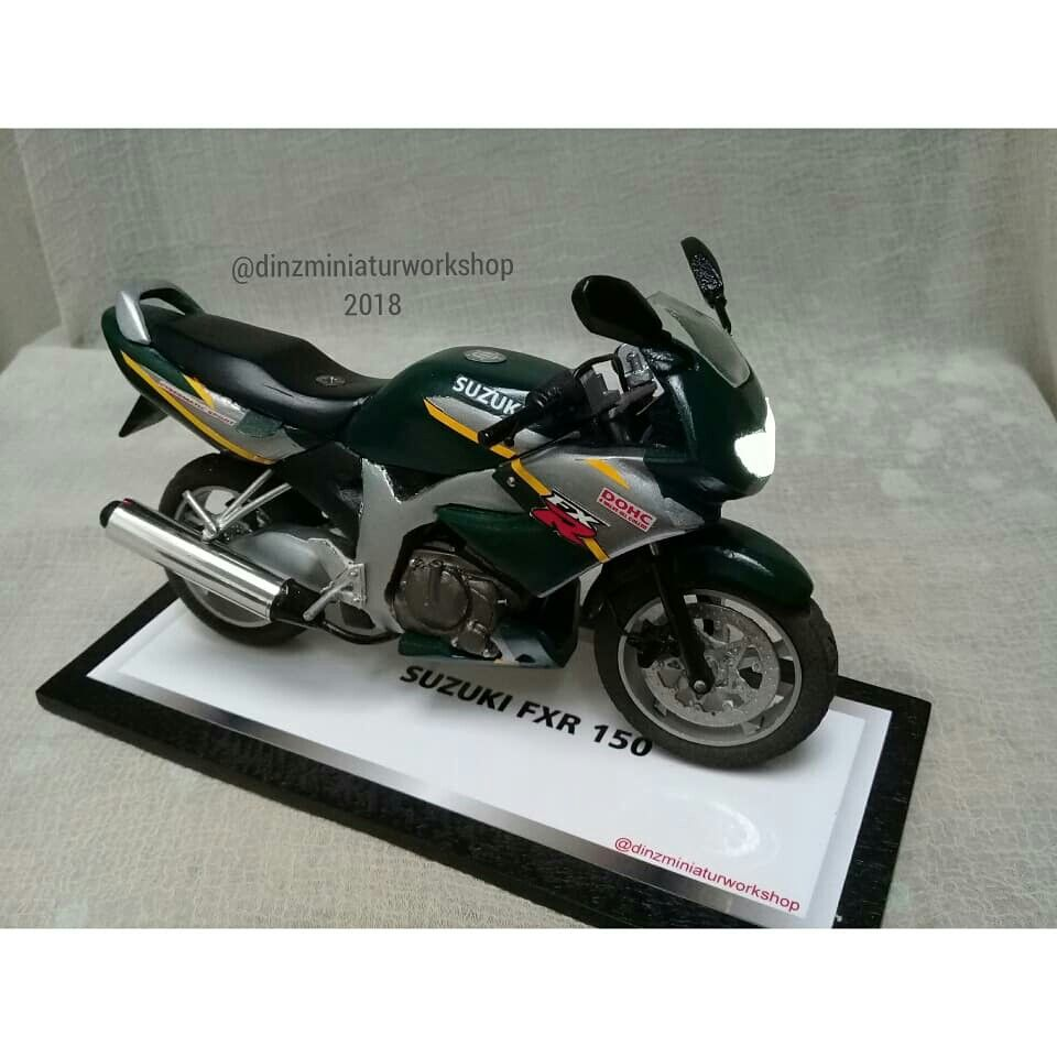 Suzuki Fxr 150 Models Scale 1 12 Diy Handmade