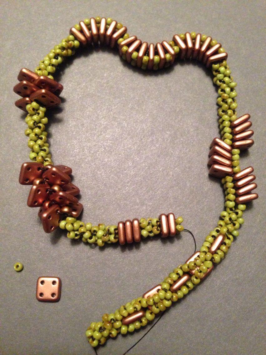 A few QuadraTile ideas! Love these beads! Beth Stone
