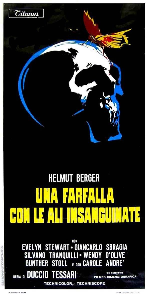 The Bloodstained Butterfly' (1971) giallo | Italian movie