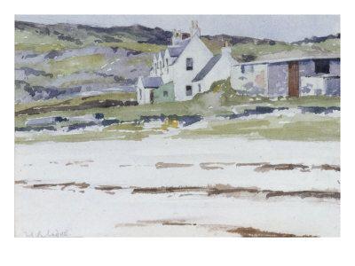 Coastal Cottages Giclee Print