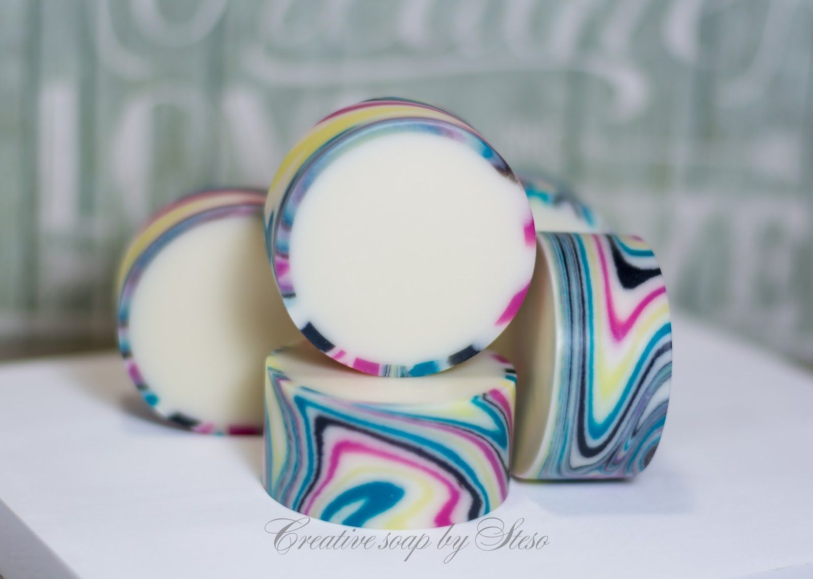 Rimmed soap. CP