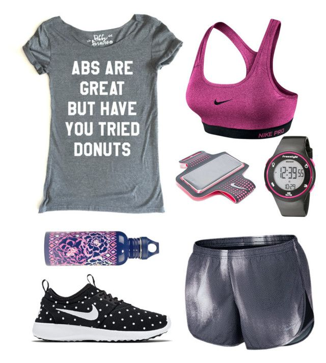 """Donuts ✔️"" by lucky1guppy on Polyvore featuring NIKE, Freestyle and Vera Bradley"