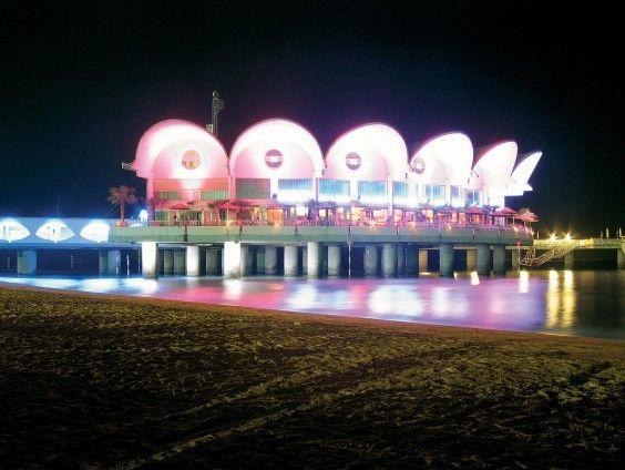 Lignano Sabbiadoro Beach Terrazza A Mare Night View
