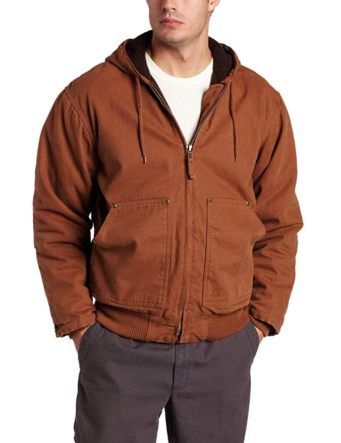 polar king by key apparel premium lined hooded jacket on men s insulated coveralls with hood id=40201