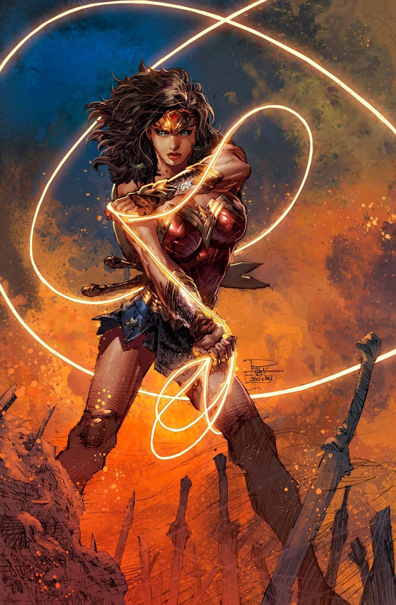 Wonder Woman by Philip Tan @philipsytan