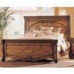 2083 20 Pulaski Furniture Salerno Cal King Panel Bed 255163
