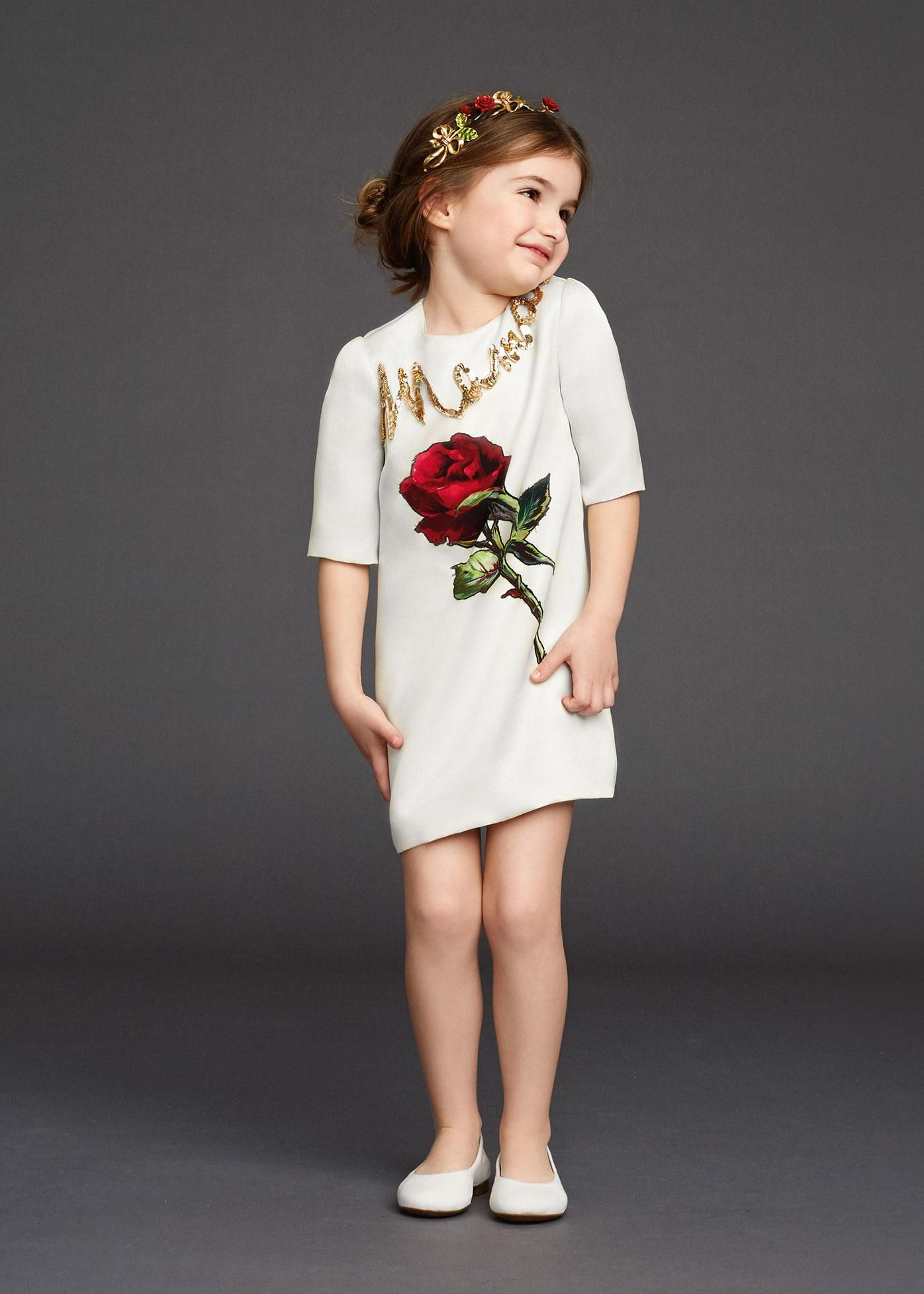 3cbc465d103eb Wl Monsoon Children's Dresses 2015 Autumn Designer Girls Dresses Kids  Clothing Rose Flower Girl Dress Winter Princess Girls Clothes 2-12Y Online  with ...