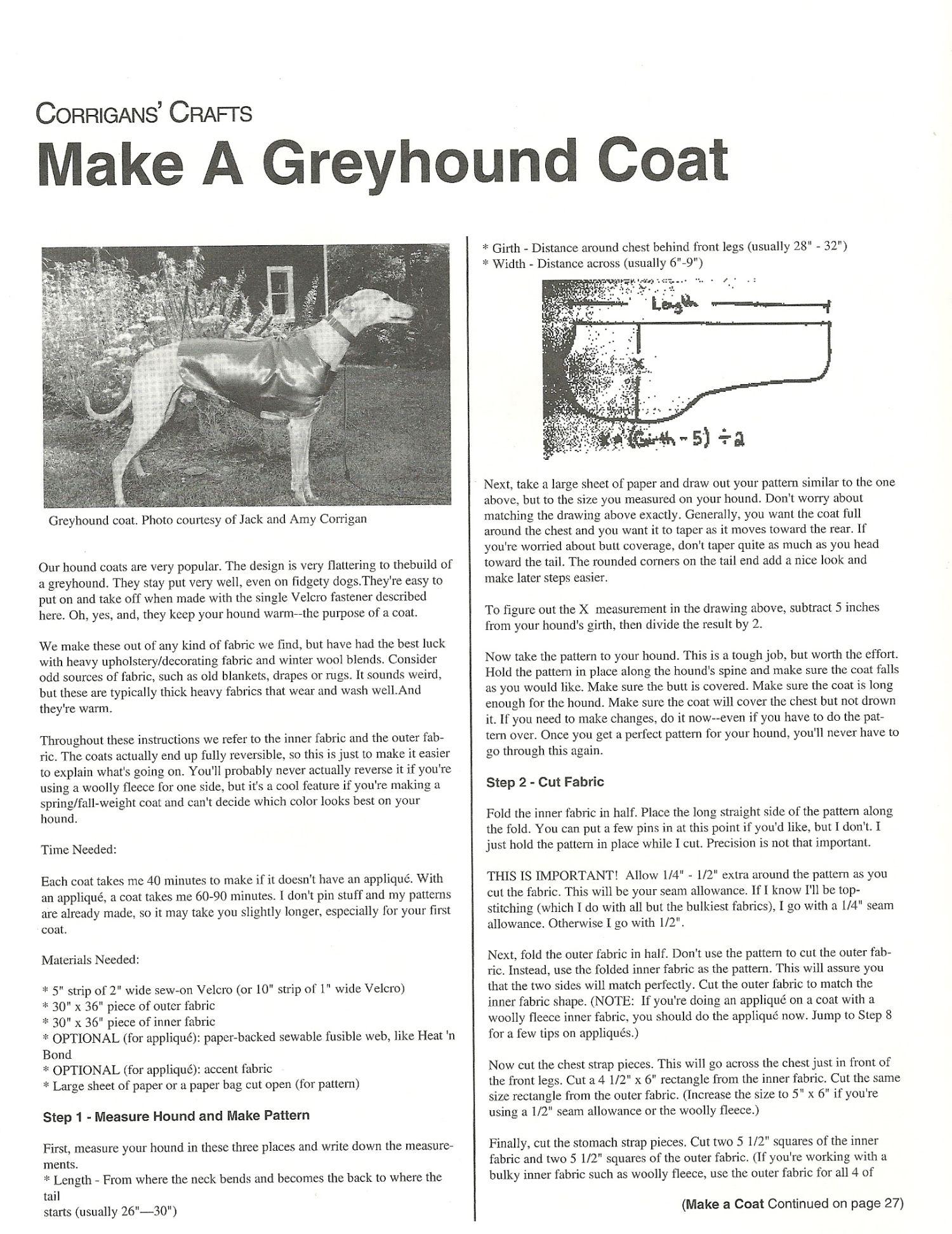 Greyhound Coat Pattern : greyhound, pattern, Greyhound, Pattern,, Sweater,