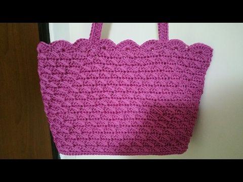 "Borsa ""Iride"" borsa uncinetto/crochet bag - YouTube"