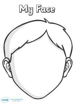 Bos Yuz Kalibi 37 Boyama Face Template Body Template Ve Face