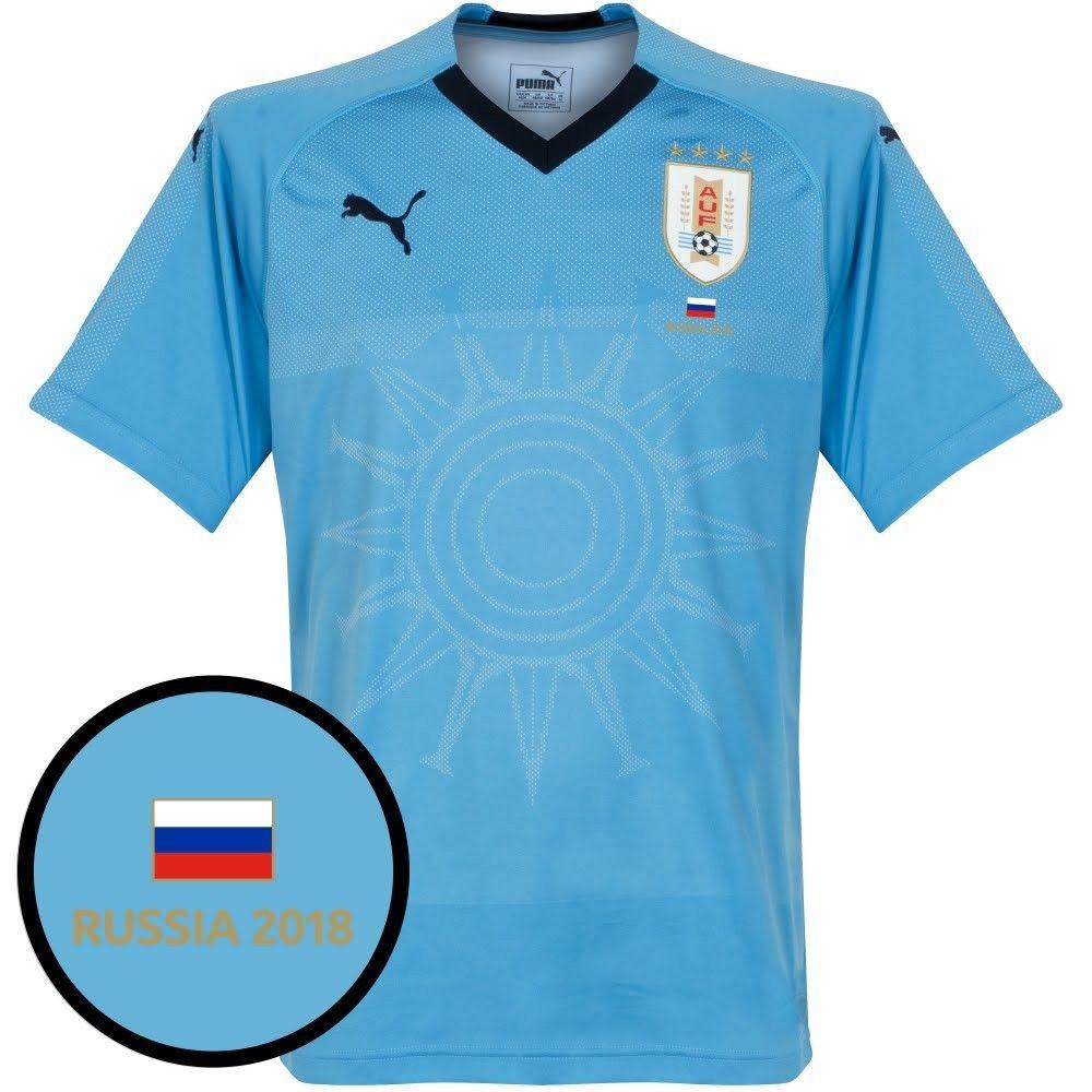 Camiseta de Uruguay 2018-2019 Local + Transfer leyenda Russia 2018 ... b063415921901