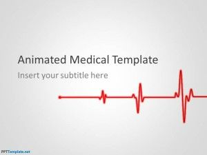 Free Animated Medical Ppt Template 아이디어 의학 디자인
