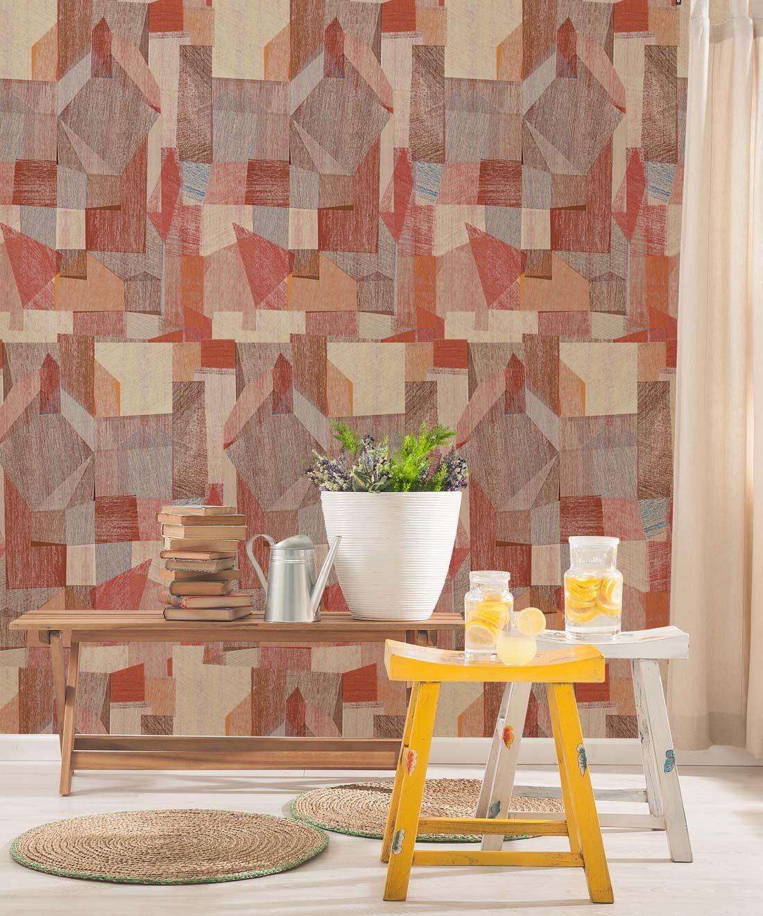 Chimera Wallpaper Colourful Abstract Wallpaper Milton King Uk In 2020 Abstract Wallpaper Wallpaper Shop Wallpaper