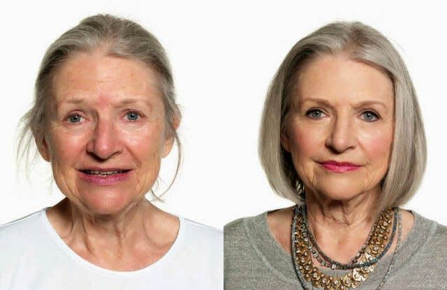 makeup for mature women with hazel eyes and blonde hair - Google Search