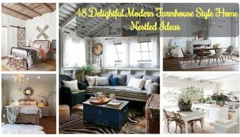 48 Delightful Modern Farmhouse Style Home Nestled Ideas #smallmodernfarmhouseplans