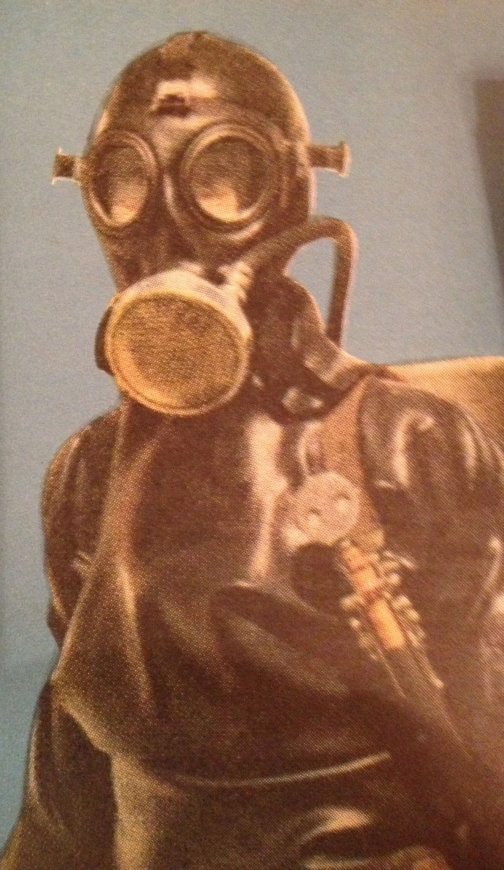 Advanced diver from a swedish magazine teknik from 1950