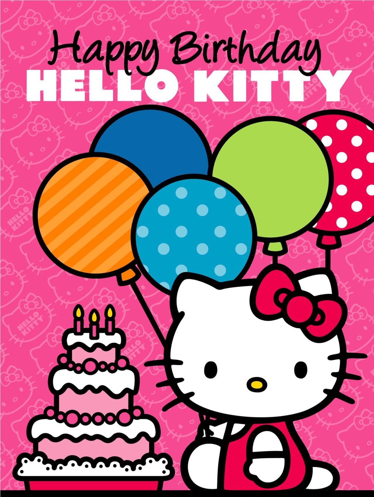 Sanrio Hello Kitty Fodelsedagskort Pyssel