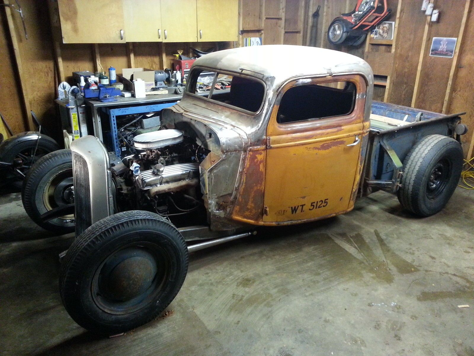 39 Ford Bobber Pickup Rat Rod Bobber Antique Cars
