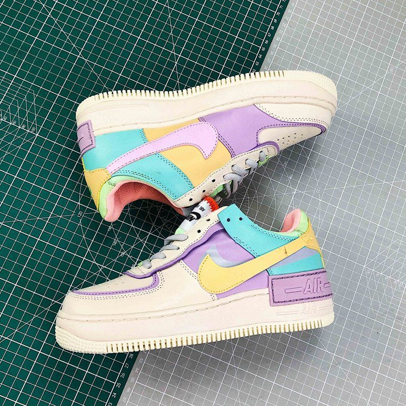 "Nike Wmns Air Force 1 Low ""Shadow"" Pale Ivory CI0919101"