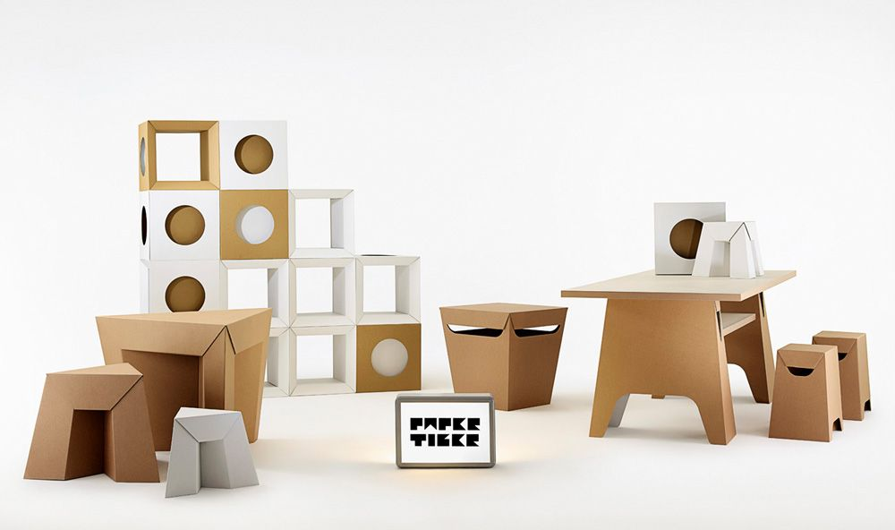karton cardboard furniture. paper tiger cardboard furniture full range light flatpack karton