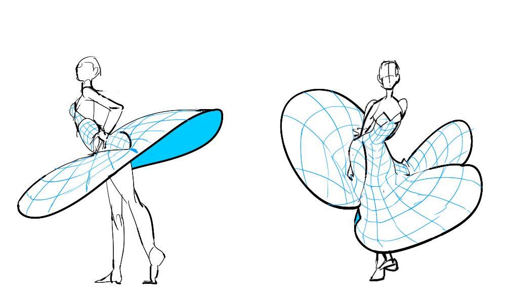 • Skirt Reference Pose •