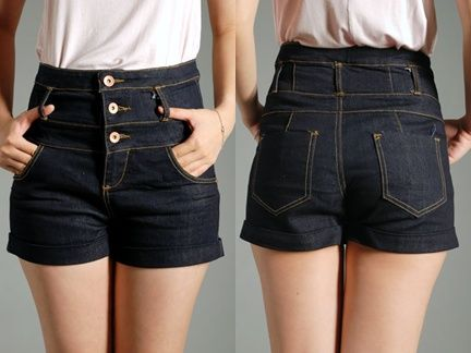 heetheadz.com high waisted shorts for girls (01 ...