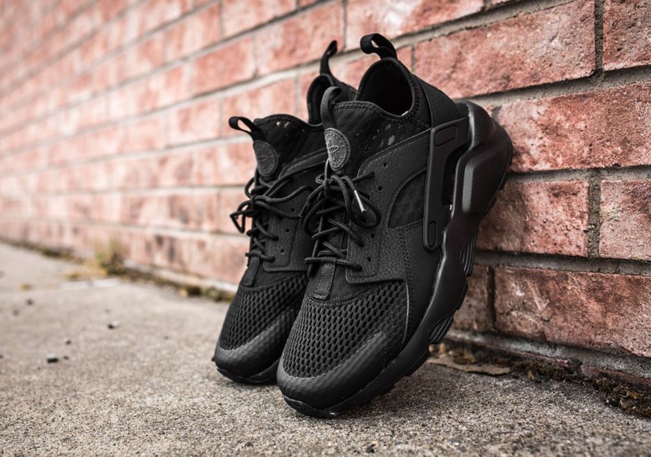 105f9459218be Nike Air Huarache Ultra BR Triple Black