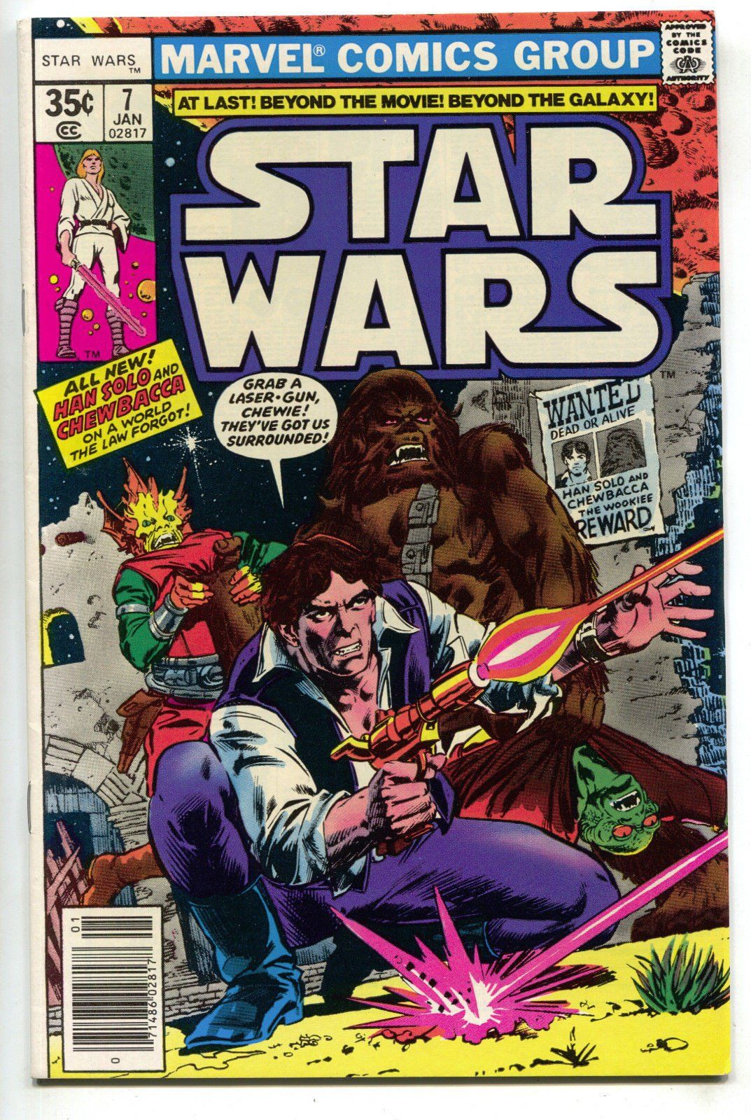 VARIANT EDITION STAR WARS #58 MARVEL COMICS NM