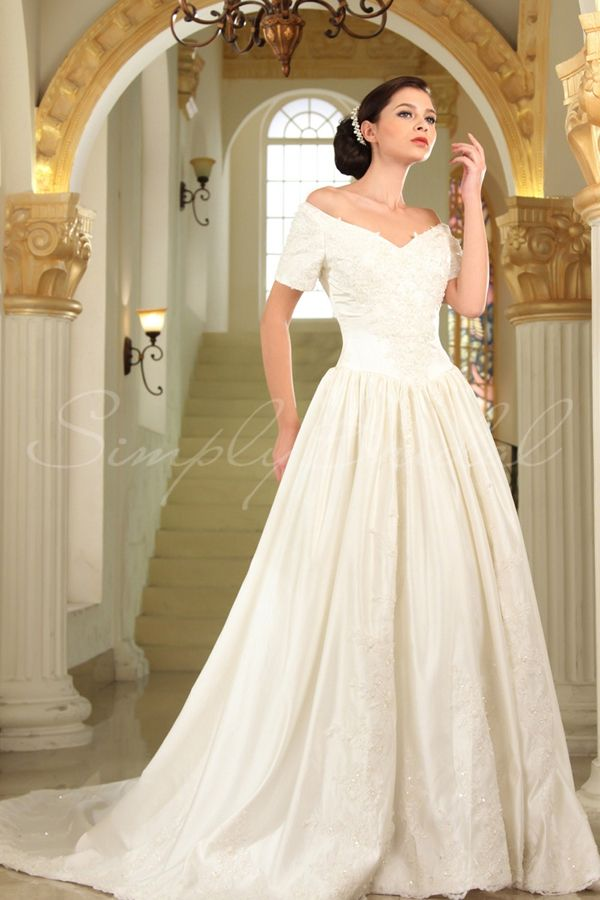 Ruth Gown By Simply Bridal 7 Wedding Dresses To Wear Your Second - Second Time Around Wedding Dresses