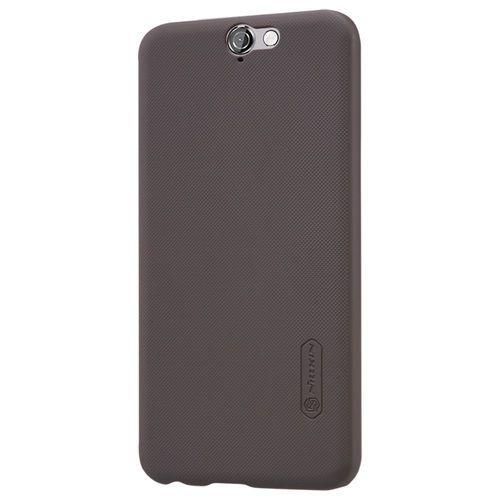 Nillkin - HTC One A9 Hoesje - Harde Back Case Frosted Shield Bruin | Shop4Hoesjes