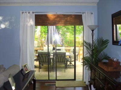 Roman Shades And Curtains For Sliding Glass Door Too