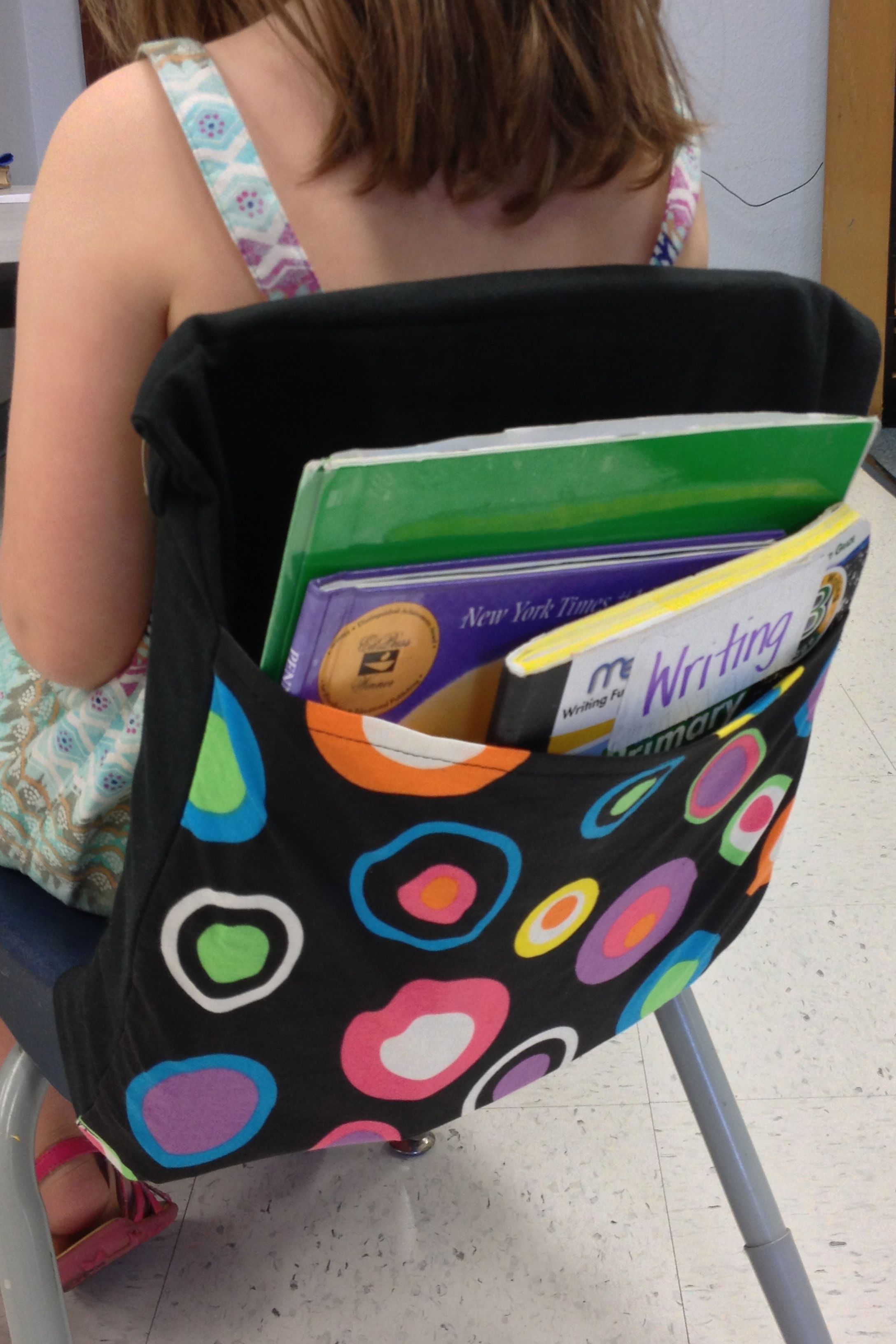 Chair Pockets Seat Sacks Brighten and organize your classroom