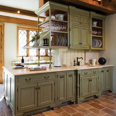 Kitchen Design Rustic And Natural Mediterranean Tile Look Good With Dark Wood Floors