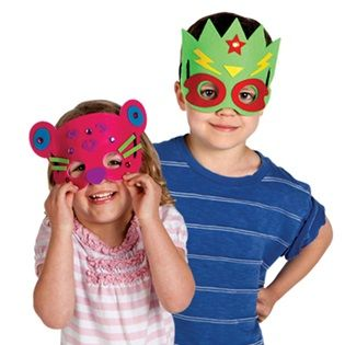 My First Fun Felt Masks by Creativity for Kids. Perfect for preschoolers, this no-mess mask kit will provide hours of play and pretend!