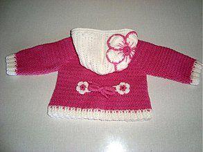 Establece Niños - Háčkovaný svetrík - 712668