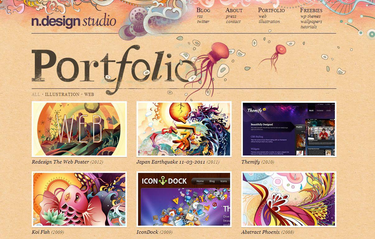 fantastic website homepage ideas. 26 Fantastic Examples of Creative Portfolio Website Designs