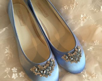 Sapphire Blue Flats Royal Blue Wedding Shoes Wedding By Parisxox