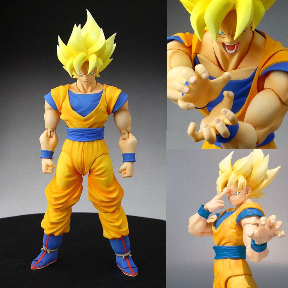 S.H.Figuarts Dragon Ball Kai Super Saiyan Son Gokou Action Figur... FROM JAPAN