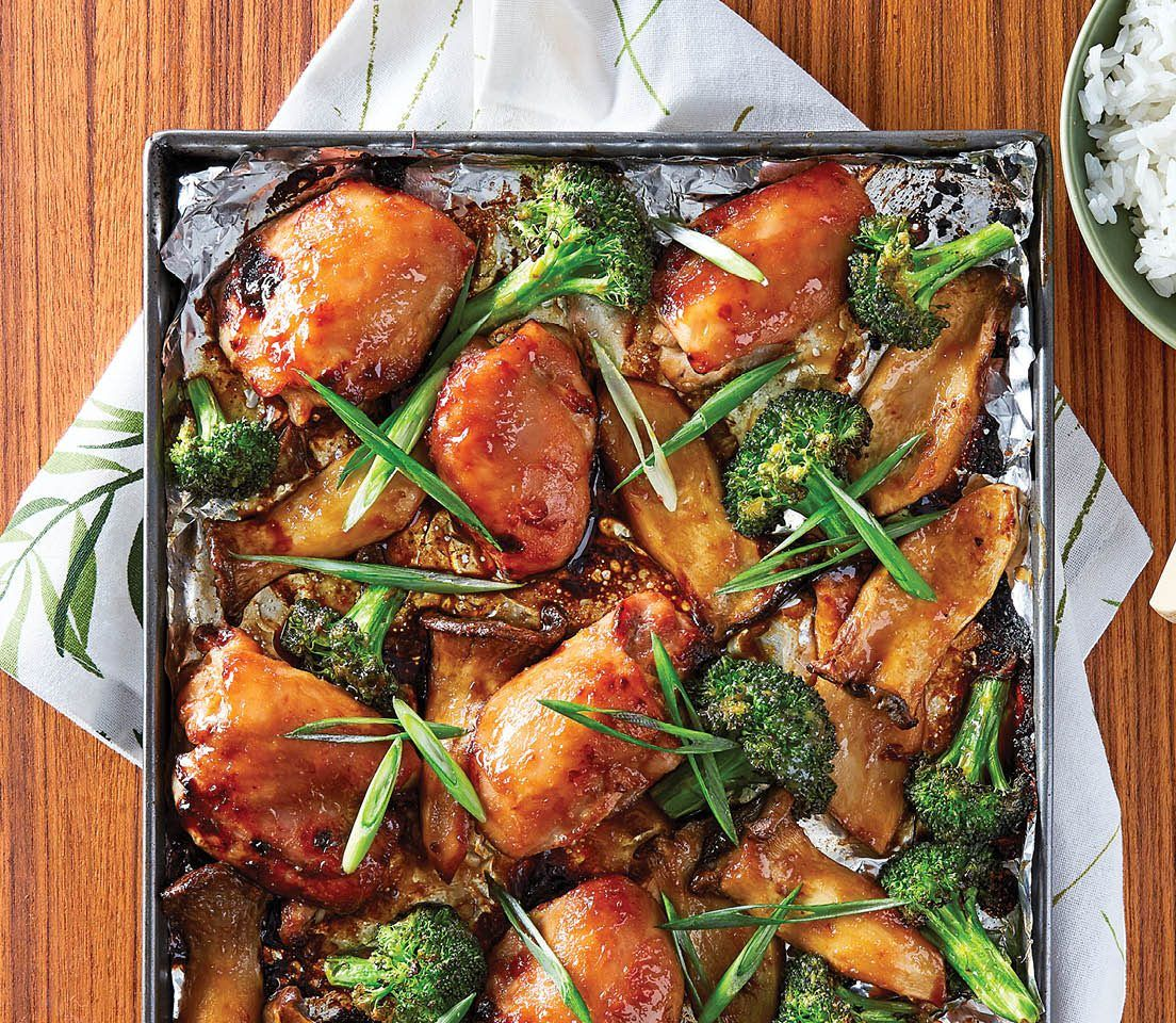 Quick Dinner Ideas With Chicken Thighs: 10 Easy And Mess-Free Sheet Pan Dinner Recipes