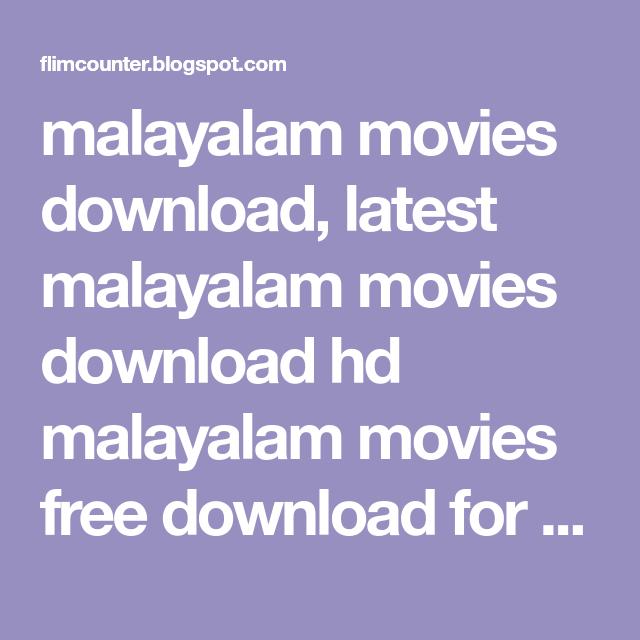 Malayalam full mobile movies free download   Avi format