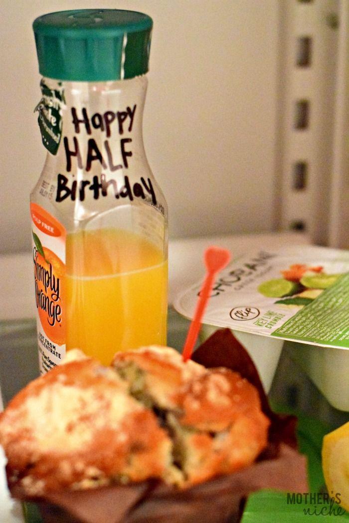 Fun Ways To Celebrate A Half Birthday