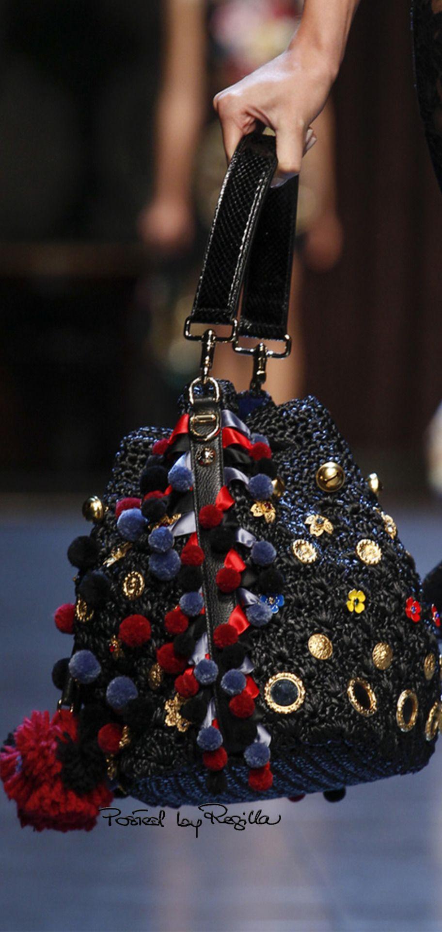 Regilla ⚜ Dolce Gabbana, SS 2016 Clothing, Shoes & Jewelry : Women : Handbags & Wallets : handbags for women http://amzn.to/2jUCm9A