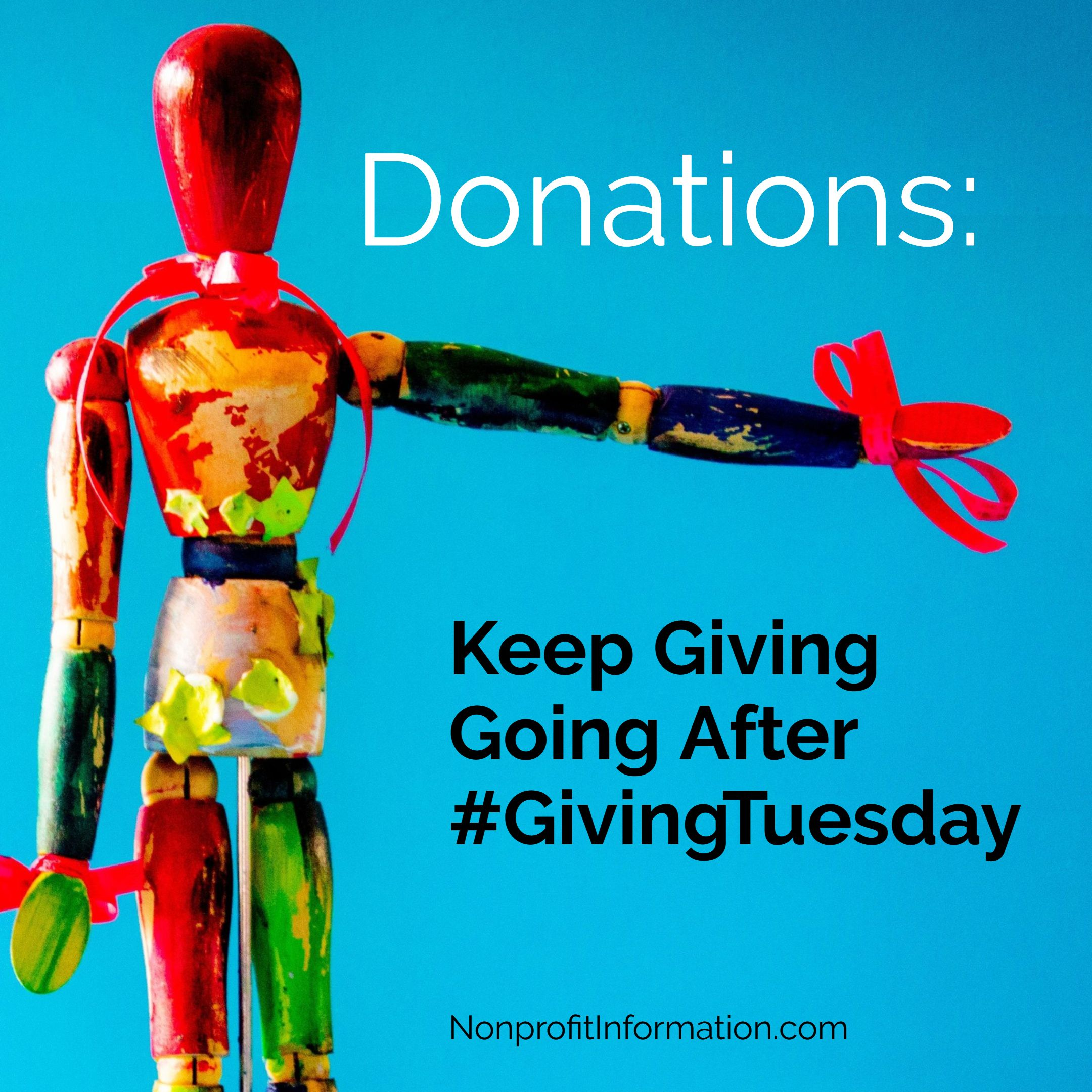 Giving tuesday tips increase donations nonprofit
